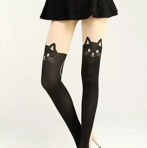 Kitty Cat Ladies Stockings/Nylons